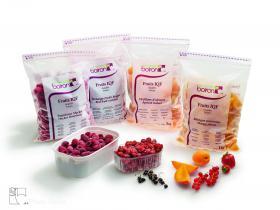 Fruits entiers - Les vergers Boiron, le meilleur des fruits et légumes surgelés en purées, coulis, préparations concentrées, semi-confits de fruits et fruits en morceaux.