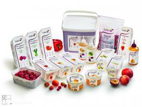 Diverse - Het beste van diepgevroren groenten- en vruchtenpurees, coulis, semi-gekonfijte vruchten en fruit in stukjes.